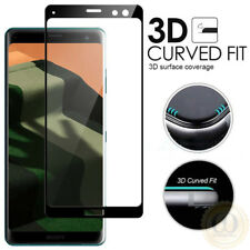 3D Curved Tempered Glass Screen Protector For Sony Xperia 5 1 10 XZ3 XZ2 XA2
