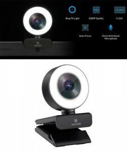 LOGITUBO Angetube Streaming 1080P HD Webcam Built in Light Mic Japan Tracking