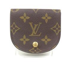 Authentic Louis Vuitton Coin Purse Porte Monnaie Gousset M61970 Monogram 77739