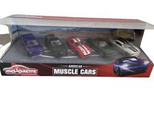 Majorette American Muscle Cars Gift Set 5pce