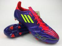 Adidas Mens Rare F50 adizero TRX FG Leather G40336 Purple Yellow Soccer Cleats