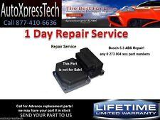 VW 5.3 ABS Control Module FIX for Volkswagen Cabrio Bosch Repair Service FAST!