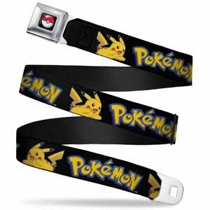 Kids Pokemon Seatbelt Style Belt - Must Have For Poke Fans! Free USA Shipping!