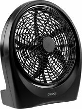 02COOL Treva Fan Battery/Electric Operated Indoor Outdoor w/ AC Adapter, 10""