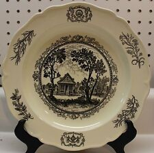 Archibald Blairs Storehouse Wedgewood Williamsburg restoration Chamberlain Plate
