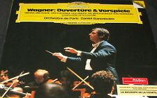 Wagner Ouverture & Vorspiele DGG DIGITAL 2532086 LP MINT VINYL Daniel Barenboim