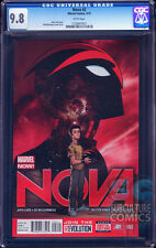 NOVA #2 - CERTIFIED CGC 9.8 - MARVEL RELAUNCH - SOLD OUT - FIRST PRINT - MOVIE