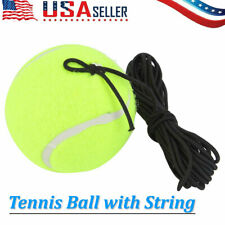 Drill Exercise Tennis Balls Trainer With 4M/13ft String Replacement Rubber Us