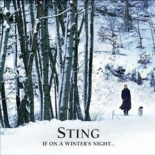 If on a Winter's Night... [CD/DVD] by Sting (CD, Oct-2009, 2 Discs, Decca)