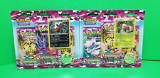 Pokemon Phantom Forces 2x 3 Pack Booster Blister Packs With Special Pikachu Coin