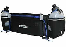 OutdoorsmanLab Hydration Belt Running W/ Water Bottles (2X BPA-Free 10) for All