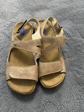 Wolky Liana Beach Cartago Leather  Size EUR 39/ US 8