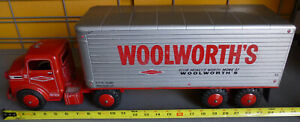 MARX 1950'S Woolworth's Tractor and Trailer LOOK!
