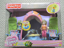NEW Fisher Price Loving Family Campsite Playset with Doll 2004