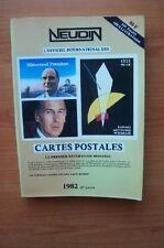 L'OFFICIEL INTERNATIONAL DES CARTES POSTALES 1982 le premier répertoir