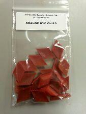ORANGE DYE CHIPS (20 PCS PER PACK) CANDLE MAKING SUPPLIES