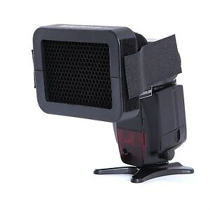 "Movo Photo SG16 1/6"" Honeycomb Quick Grid Universal Camera Flash Attachment"