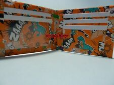 Duct Tape Wallet WITH  PHINEAS AND FERB ALL OVER IT Handmade