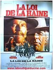 LA LOI DE LA HAINE The Last Hard Men Affiche Cinéma Movie Poster CHARLTON HESTON