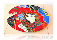 "Palette or Service Tray ""SAMURAI"" Oil + Lacquer SPECIAL Collection JAPANESE ART"
