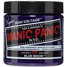 Manic Panic Semi-Permanent Hair Color Cream, Blue Moon 4 oz (Pack of 2)