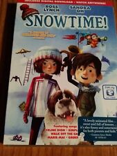 SNOWTIME! - DVD DISC & DIGITAL DOWLOAD - ROSS LYNCH - SANDRA OH - SEALED