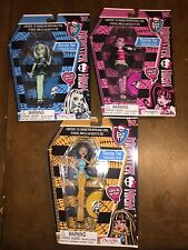 NIP MONSTER HIGH FIGURE PEN DOLLS FRANKIE DRACULAURA CLEO DE NILE SHIP EVERYDAY
