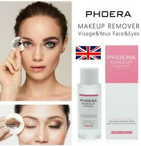 PHOERA CLEANSING WATER MAKE UP REMOVER FACE EYE WATERPROOF ERASER SOOTHES SKIN