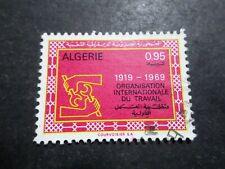 Algeria, 1968, Stamp 493, Organization Work, Obliterated, VF Used Stamp