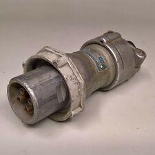 Crouse Hinds APJ-3465 30-Amp Pin Sleeve Plug 3W 4P 30A 600VAC ARKTITE