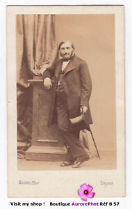 ADOLPHE DE FORCADE LAROQUETTE, HOMME POLITIQUE FRANÇAIS, CDV DISDÉRI 1865 -B57
