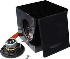 """Peerless  12"""" Subsonic Subwoofer Kit Black, with AMP"""