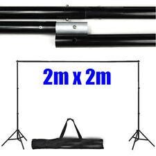 2X2M Photo Studio Background Support Adjustable Heavy Duty Backdrop Stand Kit AU
