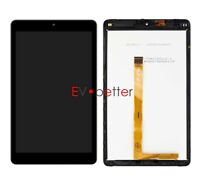 "CA For 8"" T-MOBILE ALCATEL 3T 9027W LCD Touch Screen Digitizer Assembly +Frame"