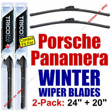 WINTER Wiper Blades 2-Pk Premium - fit 2014+ Porsche Panamera - 35240/35200