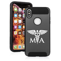 For Apple iPhone X XS MAX XR Shockproof Hard Soft Case MA Medical Assistant