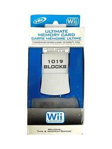Intec 64MB (1019 Blocks) Memory Card for Nintendo Gamecube Wii Brand New Retail