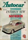 1954 18 JUNE 57540 The Autocar Magazine Cover Advert ENTIRELY NEW MORRIS OXFORD