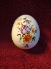Royal Worcester China Collector Egg- Danbury Mint