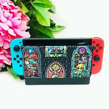 Switch Dock Sock - Stained Glass Zelda print Nintendo Accessories Screen Cover