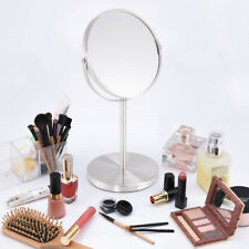 Makeup Mirror 1x/3x Magnifying 7 Inchs Round Shaped Double-Side Beauty Standing