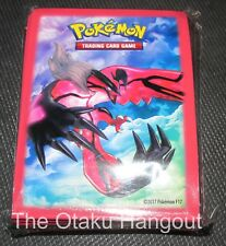 Yveltal RED Official Pokemon XY Premium Trainer Collection 65 sleeve pack SEALED