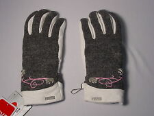 New Reusch La Fleur Winter Gloves Womens Small (7) Wool & LEATHER PALMS #2883102