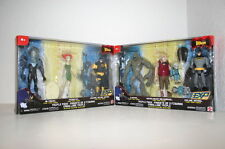 2 NEW BATMAN ACTION FIGURE TRIPLE PACKS MR FREEZE POISON IVY CLAYFACE SCARFACE