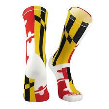 TCK Maryland Flag with Crab Crew Socks