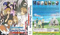 ANIME DVD Natsume Yuujinchou Season 1-6 Eng sub&All region + FREE CD