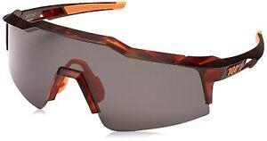 100% Sports Performance Sunglasses Speedcraft SL Dark Matte Havana - Smoke Lens