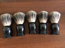 STOCK 5 pezzi THE ART OF SHAVING Pennello Tasso Pure Badger Hand Made Brush