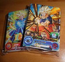 DRAGON BALL Z DBZ DBS HEROES PART 1 - 45 CARDS REG + RARE CARTE SH3 SET JAP NM>M