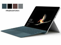"Microsoft Surface Go 10"" Convertible Tablet Laptop w/ Keyboard Type Cover Bundle"